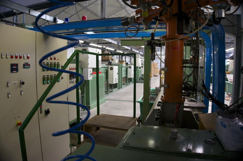 usine extrusion