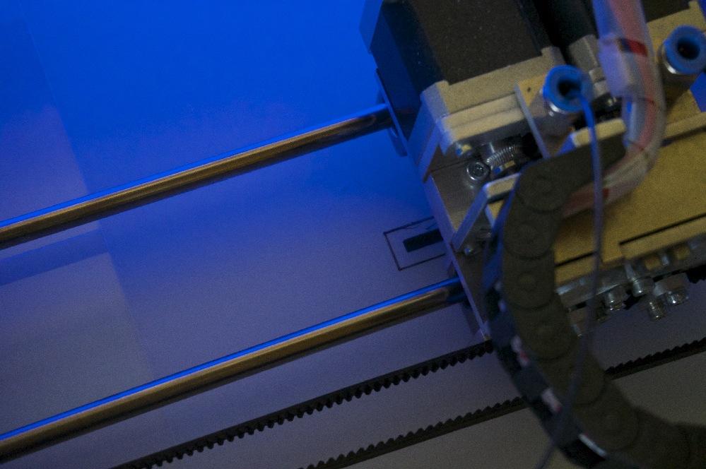 Test d'un filament technique