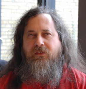 Richard Stallman, propre