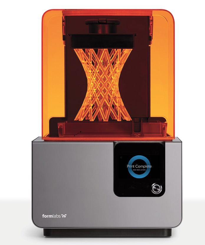 "L'excellente ""Form2"" de Formlabs"