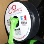 Test du Filament PETG au carbone de chez Optimus